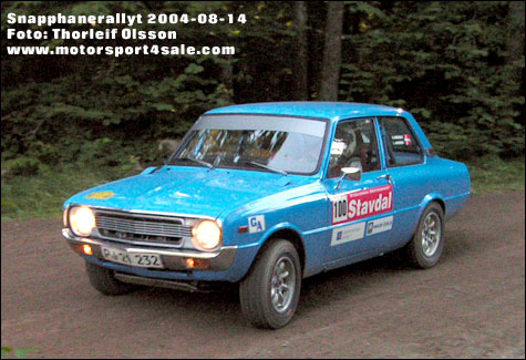 Britta - Snaphanerally 2004 / Foto Thorleif Olsson